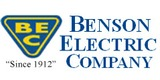 Sponsor - Benson Electric