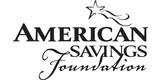 Sponsor - American Savings Foundation
