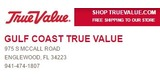 Sponsor - Gulf Coast True Value