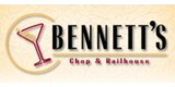 Sponsor - Bennett's Chop and Railhouse