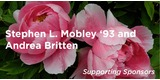 Sponsor - Stephen L. Mobley '93 and Andrea Britten