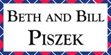Sponsor - Beth and Bill Piszek