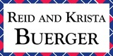 Sponsor - Reid and Krista Buerger