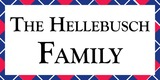 Sponsor - The Hellebusch Family