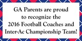 Sponsor - Football Parents