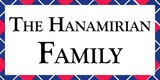 Sponsor - The Hanamirian Family