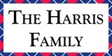 Sponsor - The Harris Family