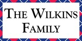 Sponsor - The Wilkins Family