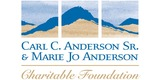 Sponsor - Carl C. Anderson Sr. & Marie Jo Anderson Charitable Foundation