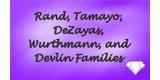 Sponsor - Rand, Tamayo, DeZayas, Wurthmann, and Devlin Families
