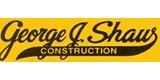 Sponsor - George J. Shaw Constrruction