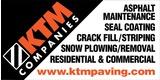 Sponsor - KTM Paving
