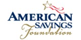 Sponsor - American Savings Foundation