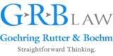 Sponsor - Goehring, Rutter, & Boehm